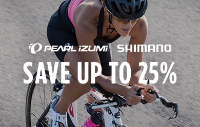 Save up to 25% on Shimano & Pearl Izumi
