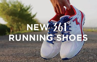 New 361 Degrees Running Shoes