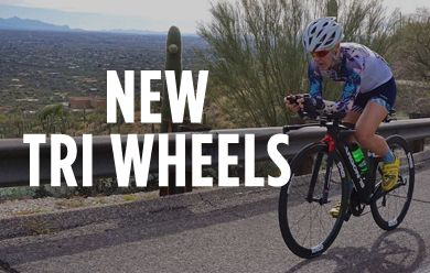 Get to the finish line faster with new Tri wheels