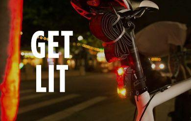 Shop new bike lights for winter