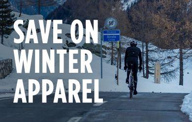 Save on winter bike apparel from Castelli, Pearl Izumi at TriSports.com