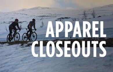 Shop winter cycling apparel closeouts at TriSports.com